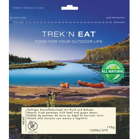 Trek'n Eat Hearty potato stew with beef and beans Outdoor Nutrition brown/blue